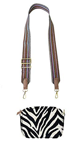 CODELLO dames schoudertas ZEBRA WOVEN CROSS BODY BAG 01031106
