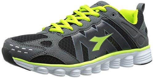 Diadora COVERCIANO Trainer-U, Black/Matchwinner Yellow, 5 M US