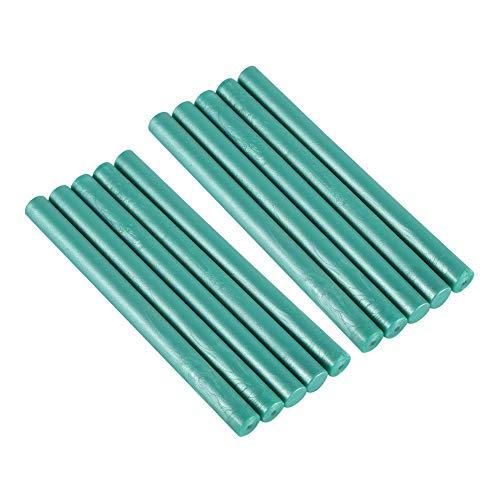 10 Teile/satz Vintage Siegellack Sticks, für Schmelzwerkzeug Stempel Umschlag Einladung blau