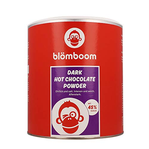 blömboom - Chocolate - All Products for On-line Discounts - Blömboom - DARK HOT CHOCOLATE POWDER BIO DOSE - 2000 G