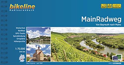 MainRadweg: Von Bayreuth nach Mainz.1:75.000, 544 km, wetterfest/reißfest, GPS-Tracks Download, LiveUpdate (Bikeline Radtourenbücher)