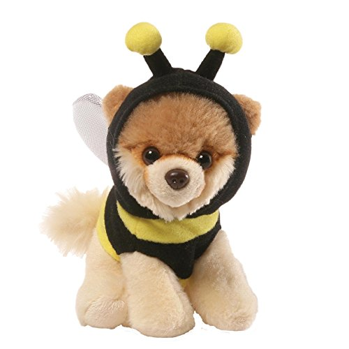 GUND Itty Bitty Boo Bumblebee Costume Dog Stuffed Animal Plush, 5""
