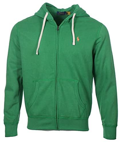 Ralph Lauren Chaqueta con capucha para hombre., verde, L