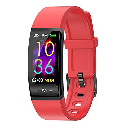 YDK M8 Smart Watch, Monitor de frecuencia cardíaca IP67 Pulsera Inteligente Impermeable Presión Arterial/Monitoreo de Ritmo cardíaco Pulsera de Reloj para Android iOS,E