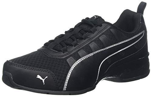 PUMA Unisex-Erwachsene Leader Vt Mesh Sneaker, Schwarz (Puma Black-Puma Silver 7), 39 EU (6 UK)