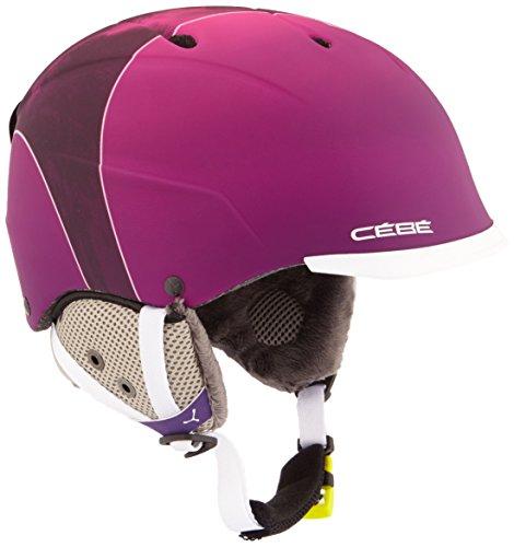 Cébé Skihelm Contest Visor Pro Pink Mountain, 58-62 cm, CBH159