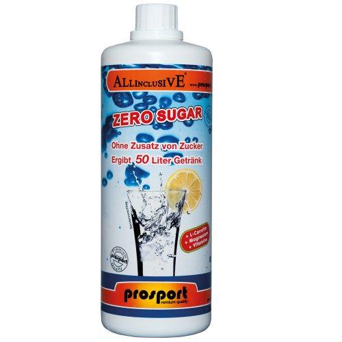 Prosport - Allinclusive ZERO SUGAR Cherry-Cola Getränkekonzentrat 1 Liter