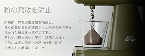 カリタコーヒーミルネクストG電動ミル61090アーミーグリーン