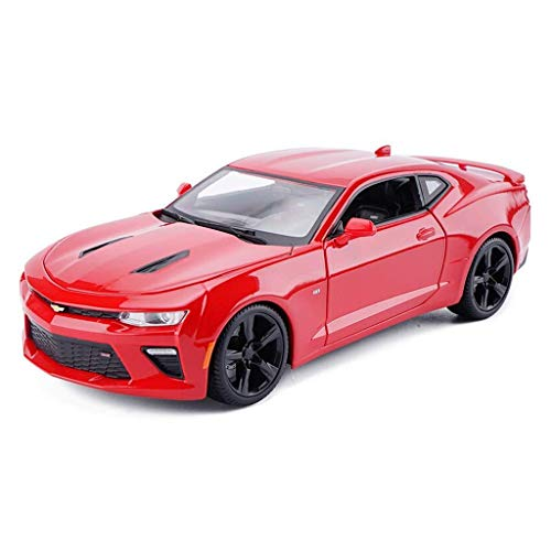 hclshops Coche Modelo de Coche de 1,18 Simulación de aleación de fundición 26x10.5x7.5CM joyería Adornos de Juguete Sports Car Collection (Color, Azul), Azul (Color : Red, Size : One Size)