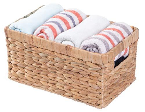 cesta mimbre pequeña fabricante Vintiquewise
