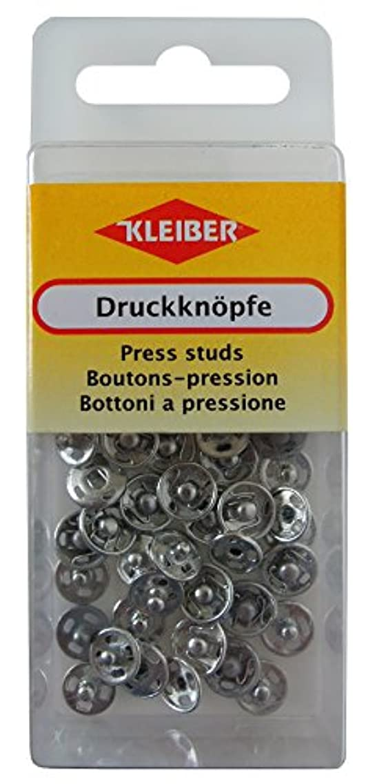 Kleiber 80008?Poppers Silver 0.8?x 0.8?x 0.3?cm