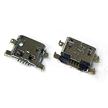 ePartSolution_2X USB Charger Charging Port Dock Connector USB Port for Alcatel One Touch Fierce 2 7040T 7040N 7040 Replacement Part USA