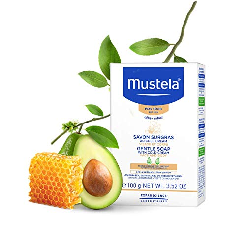 Mustela Mustela Gentle Soap With Cold Cream 100Gr 100 g