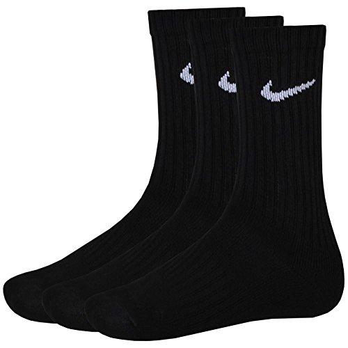 Nike 9 Paar Sportsocken Socken Größe L (42-46) schwarz Vorteilspack