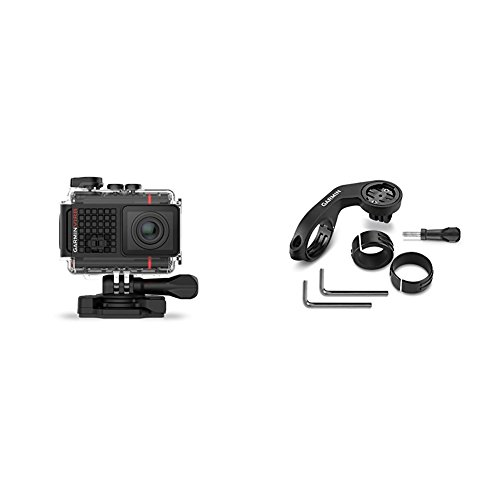 Garmin VIRB Ultra 30 Action Camera and VIRB Ultra Cycling Combo Mount Bundle