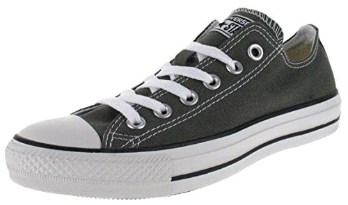 Converse Unisex-Erwachsene Chuck Taylor All Star-Ox Low-Top Sneakers, Grau (Charcoal), 39 EU