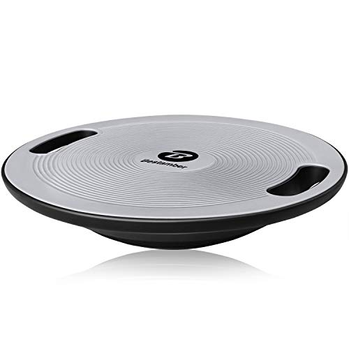 Bestamber Balance Board, Wobble Board Exercise Core Balance Trainer No-Skid Surface Stability...