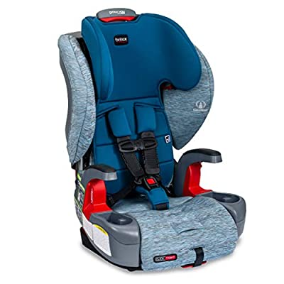 Britax Grow with You ClickTight Harness-2-Booster Car Seat | 2 Layer Impact Protection - 25 to 120 Pounds, Seaglass [New Version of Frontier] from AmazonUs/BIYN9