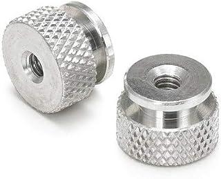 Solid Brass Knurled Thumb Nuts 1//4-20 Qty 50