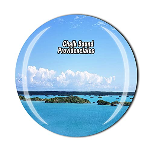 colomba gesso Colombia 3D Gesso Suono Providenciales Calamita da frigorifero souvenir cristallo vetro magnete viaggio souvenir collezione regalo casa cucina decorazione