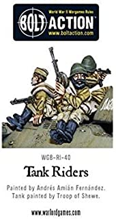 Warlord Games WGB-RI-40, Soviet Army Tank Riders, 28mm Bolt Action Wargaming Miniatures …