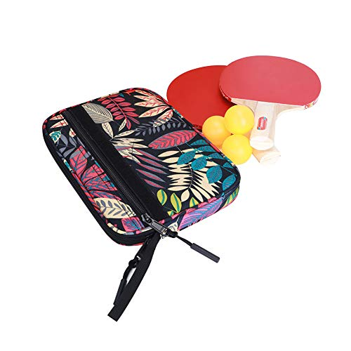 Amazing Deal Qchengsan Table Tennis Bat Cover, Table Tennis Racket Case Bag, Ping Pong Paddle Bat St...