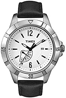 Timex Casual Watch For Unisex Analog Leather - T2N510