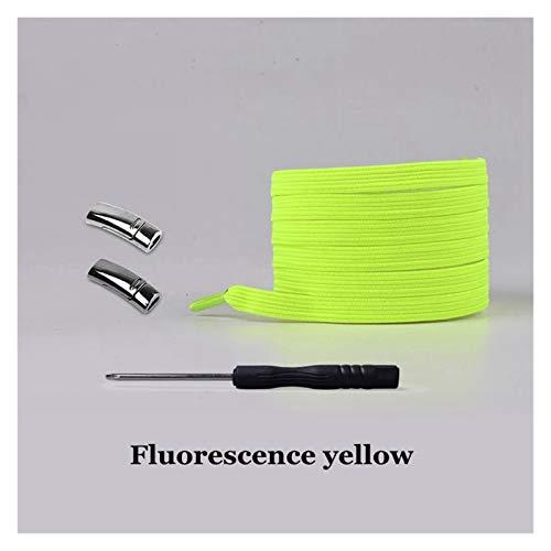 DYKJK Duradero Shoelace Magnetic Elastic Shoe Shoe Laces Sin Corbata Shoelaces Cerradura magnética rápida Cordones Perezosos para niños y Adultos 24 Colores para reemplazo de Cordones