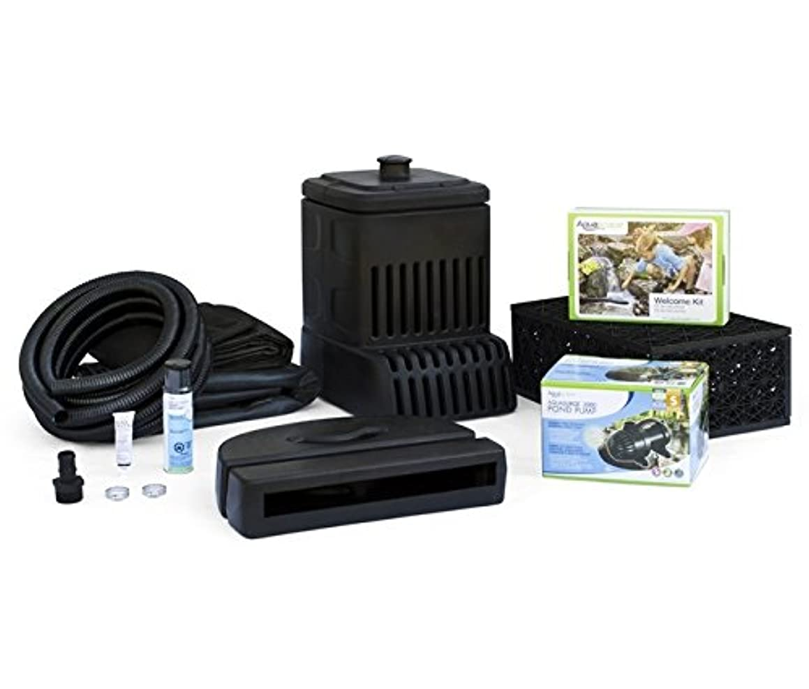 Custom Pro's Aquascape Pondless Disappearing Waterfall Kit with Ultra 2000 GPH Pump and More - Up to a 3 Foot Long Waterfall