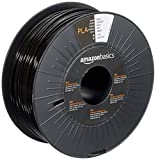 AmazonBasics Filament PLA pour Imprimante 3D, 2.85 mm, Noir, Bobine, 1kg