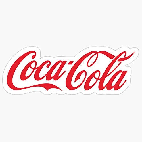 Deangelo Coca-Cola Aufkleber, 3 Stück