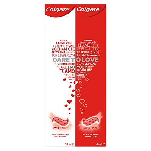 Colgate Dare to Love Limited Edition Zahnpasta, 2x98 ml