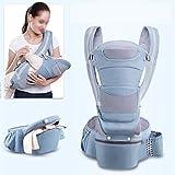 Dccer 0-48m Transportador de bebé ergonómico 15 usando Way Infant Baby Hipseat...