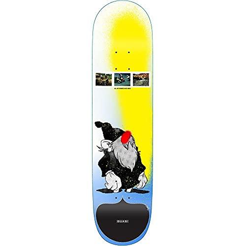 Quasi Skateboards Mies - Tavola da skateboard multipla 21,6 cm