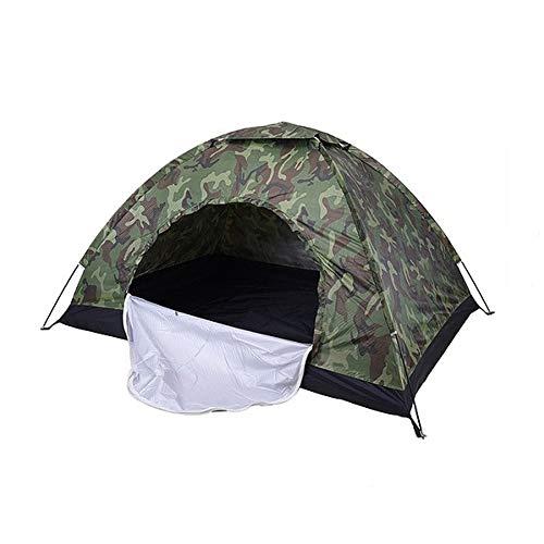 ZHJLOP Tente Tente Ultra-légère imperméable à l'eau Ultra-légère de Double Poteau en Aluminium de Double Couche avec la Jupe de Neige / 4season Meilleure Utilisation en Hiver