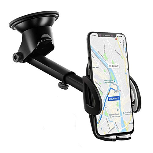 IZUKU - Supporto universale per telefono auto, con ventosa per parabrezza