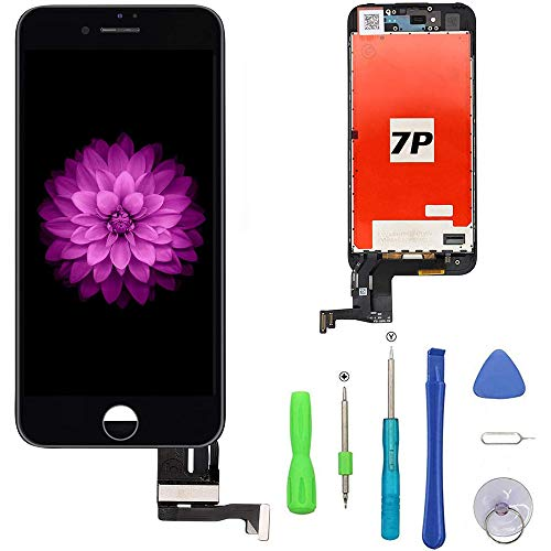 FFtopu Compatible with iPhone 7 Plus Screen Replacement Black?5.5