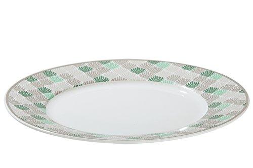 Assiette Natural Art Porcelaine Ø 19 cm, Cuisine, Vaisselle, Petit-Déjeuner