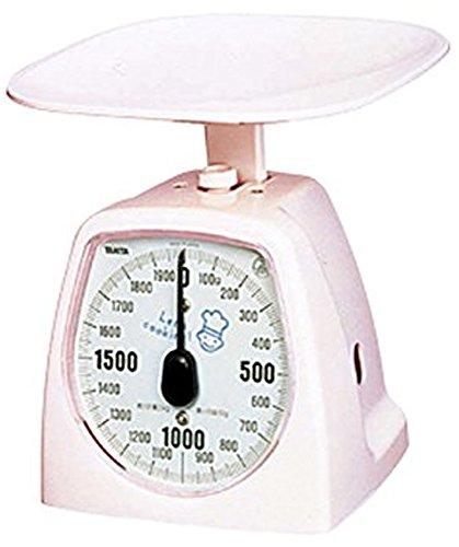 タニタ キッチンスケール はかり 料理? アナログ 2kg 10g単位 ピンク 1437-NPK