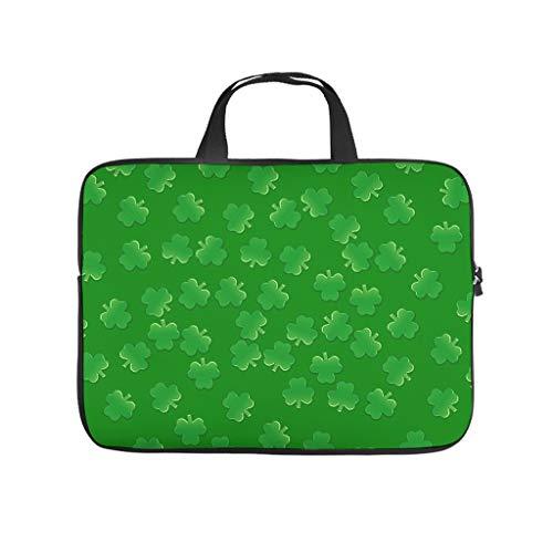 st Patricks Tag - Funda para portátil resistente a los arañazos para portátil, diseño de bolso para el trabajo universitario