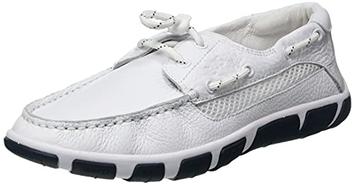 TBS Jordana, Chaussure Bateau Femme, Blanc, 39 EU