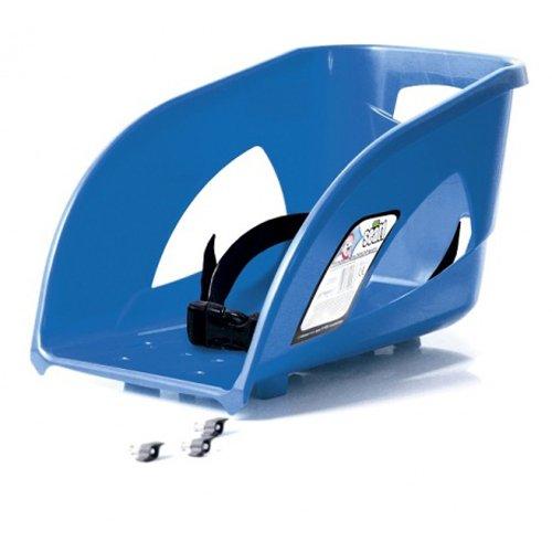 Prosperplast Sitzfläche Abnehmbarer Sitz mit Rücklehne passend zu Prosperplast Schlitten und Bob