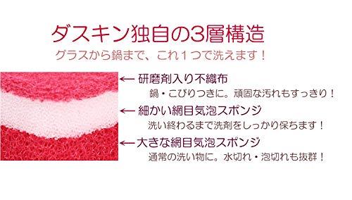 ダスキン『台所用スポンジ抗菌タイプ』