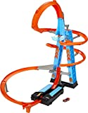 must have toys 2021 shows the size of the sky-high crash tower for multiple hot wheels cars