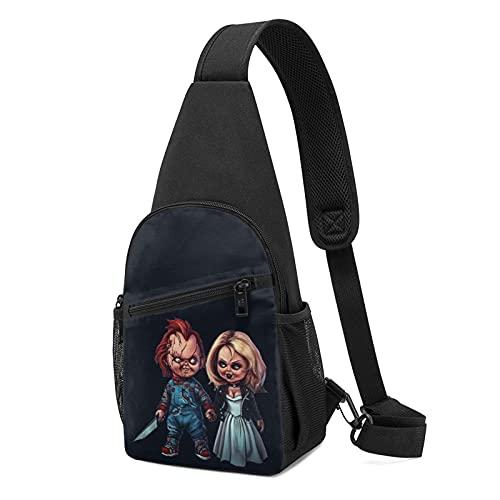 Chucky Sling Rucksack Multifunktional Wandern Reisen Crossbody Umhängetasche für Unisex