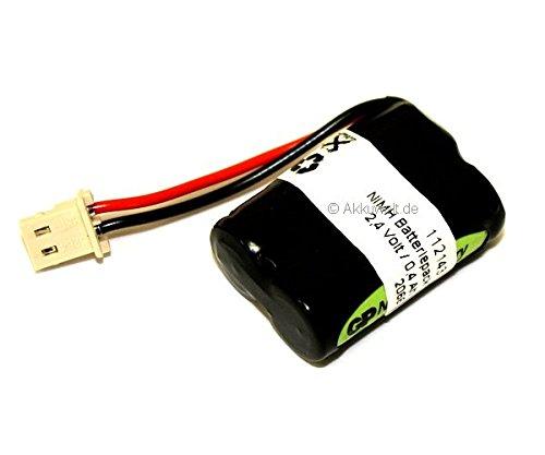 Gopacks Ersatzakku für Simvalley Retro Dect Simvalley PX-1712 (Pearl) Accu Batterie Battery Bateria Akkubatterie