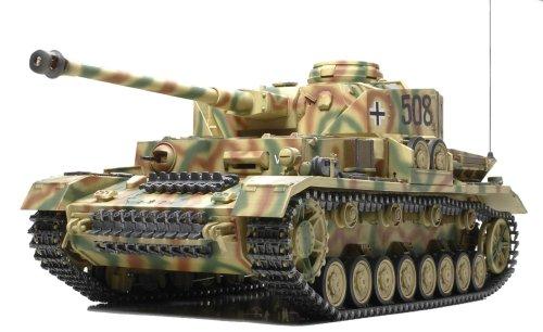 Tamiya - Maqueta del tanque RC Panzerkampfwagen IV Ausf. J full option...