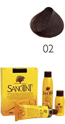 SANOTINT® Haarfarbe Nr. 02 ?Tiefbraun? (125 ml)
