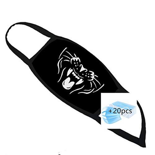 Rat Fink Face Cover Shield Neck Warmer Neck Scarf Multifunctional Headband Headwear Headwrap Balaclava Mouth Shields Unisex Windproof Breathable Reusable Anti Dust