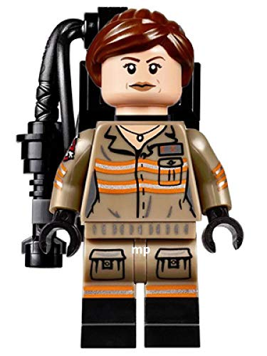 Erin Gilbert Lego Minifigure from Set 75828 Ghostbusters Ecto-1 & 2
